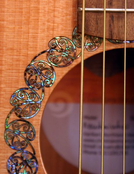 Paua Kowhaiwhai rosette
