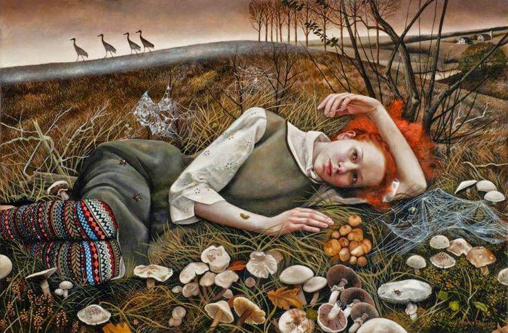 Andrea Kowch, 1986 ~ Symbolist painter: