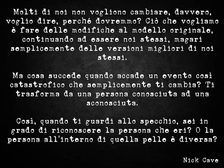 Le parole di #NickCave nel trailer di #OneMoreTimeWithFeeling #SkeletonTree