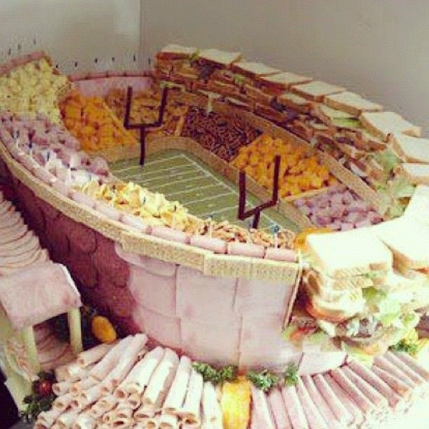 I am intrigued by the phenom of food stadiums... there is a townwide opportunity for a contest here...