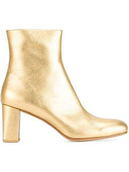 metallic ankle boots Maryam Nassir Zadeh