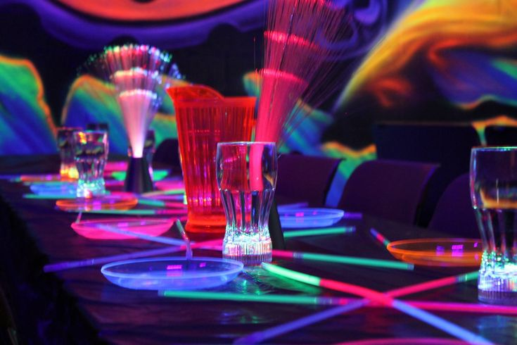 334 Best Glow Party Ideas Images On Pinterest Glow Party