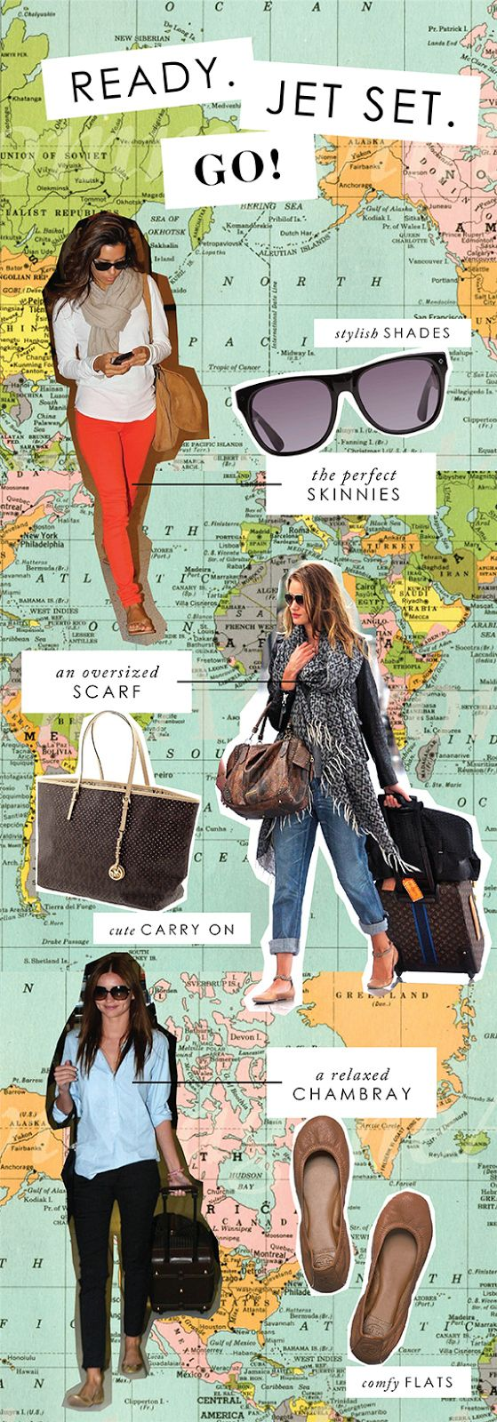 You've had your travel outfit down pat for a long time. | 31 Signs You're A Traveler At Heart