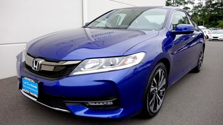 2017 Honda Accord Blue Spotlight