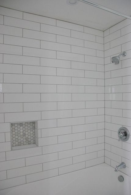 17 Best Ideas About White Subway Tile Shower On Pinterest