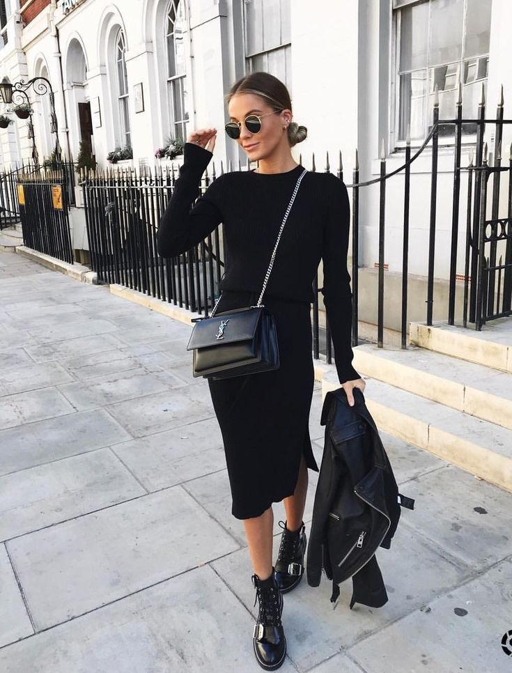 Timeless Black and White Outfits 3