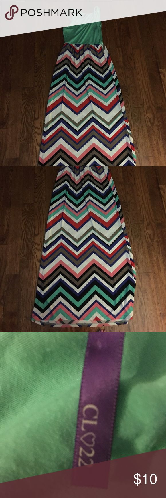 Cute chevron print maxi dress Chevron print maxi dress Dresses Maxi