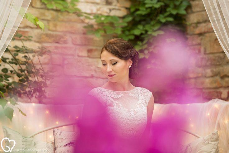 bride portrait, wedding photography, esküvői fotó, fotografo matrimonio  #weddingphotography #realwedding #grazmelphotography Photography by © www.grazmel-photography.com