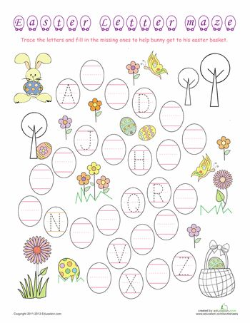 10 Printable Easter Games