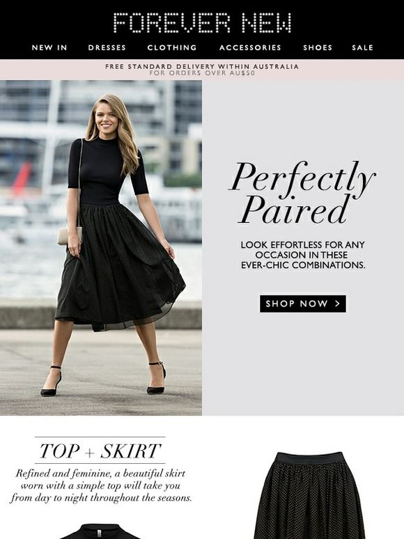 Discover Chic Outfit Combinations + 20% Off Dresses*