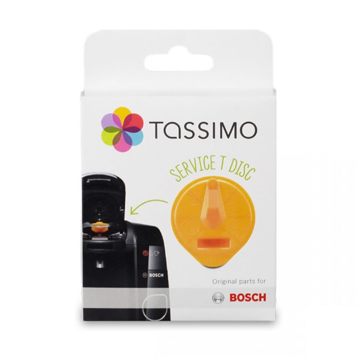 Tassimo Cleaning/Service Disc - Orange | Replacement cleaning disc to keep your brews fresh and your machine clean. #tassimo #cleaning #brewer