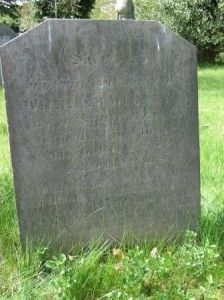 """Willie Wimmera's grave at Reading in England. """"Sacred To the memory of WILLIAM WIMMERA, An Australian Boy, Who died in Christ, March 10th 1852 Aged 11 years"""""""