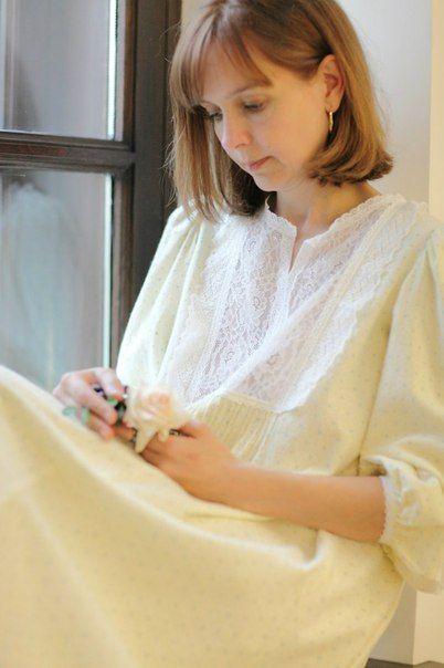 В НАЛИЧИИ! Женские ночные сорочки | 32 фотографии