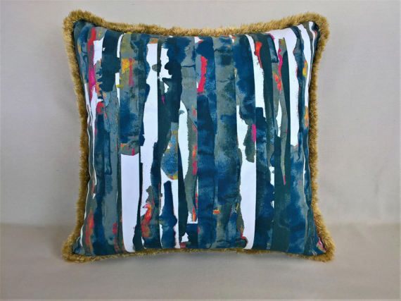 Decorative pillow for couch modern abstract pillow cover