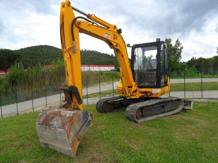 Escavatore JCB 8052