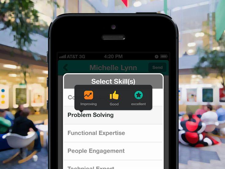 iPhone app - Select Skills by kumar vivek
