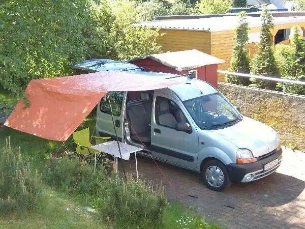 camping renault kangoo pinterest camping mini. Black Bedroom Furniture Sets. Home Design Ideas