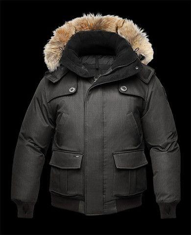 Nobis Men's Cartel Jacket in Crosshatch Black