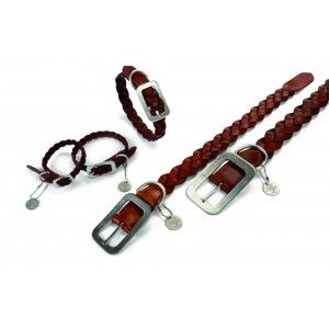 Leren Halsband Designed By Lotte