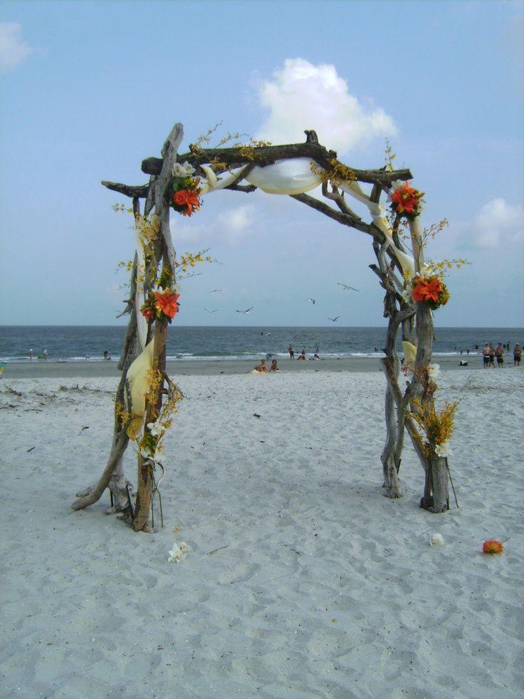 wooden wedding arch | Wedding arch | Wood Wedding Arches