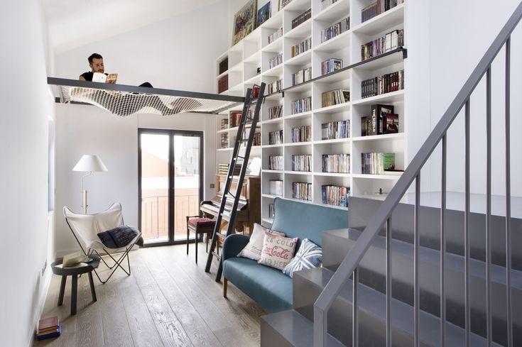 Dit huis in Madrid is gemaakt voor boekenliefhebbers - Roomed