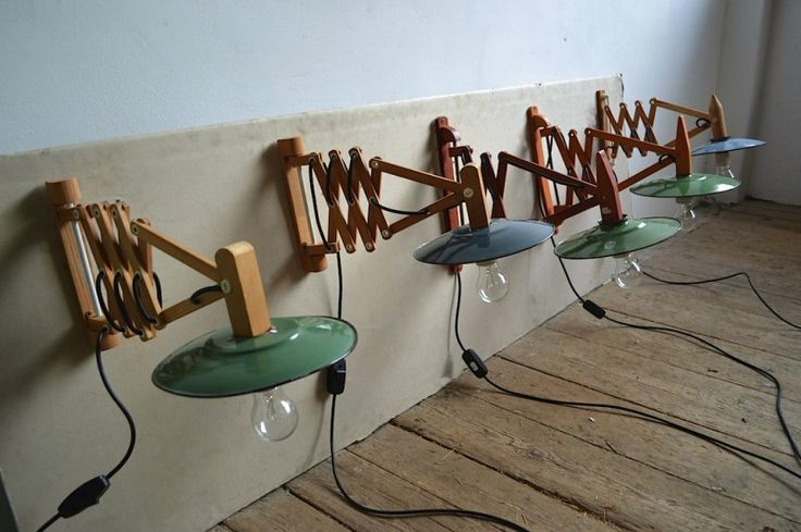 Pull-out wall lamps (5 pc) - artKRAFT