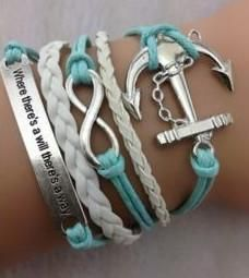 Infinity Bracelet - Where there's a will there's a way
