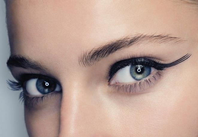 Trucco: occhi magnetici e felini. Eyeliner e mascara. Istruzioni per l'uso