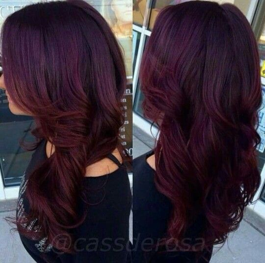 1000 Images About Red Violet Hair On Pinterest  Violets Medium Brown And N