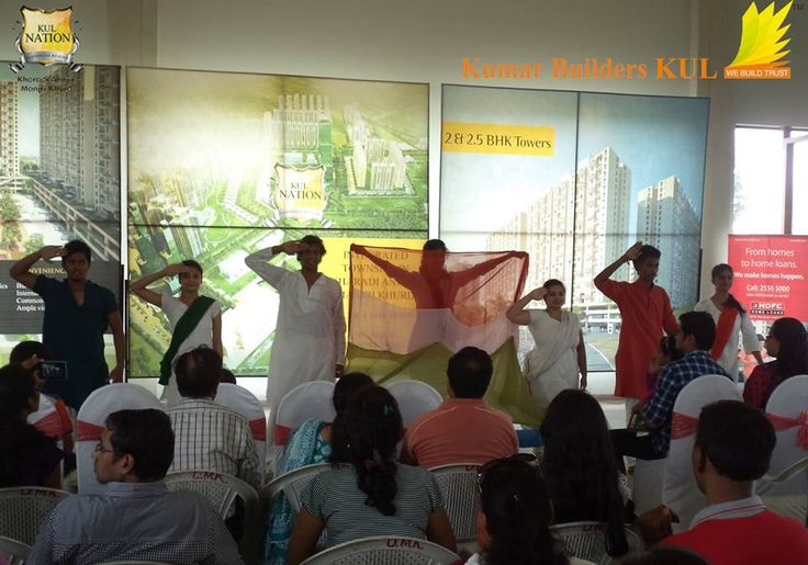 Theme Dance on the Indian Struggle and Joy of Independence with New and Western Outlook.