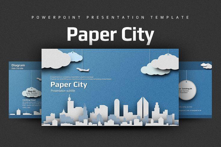 Paper City by Good Pello on @creativemarket