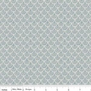 Zoe Pearn - A Merry Little Christmas - Merry Scallop in Gray