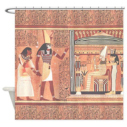 CafePress  Ani Papyrus Egyptian  Decorative Fabric Shower Curtain >>> Details can be found by clicking on the image.