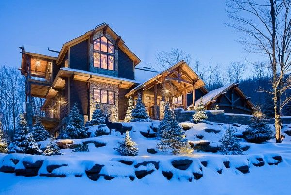 Timber Framing At Its Best Mountain Lake Campy Homes