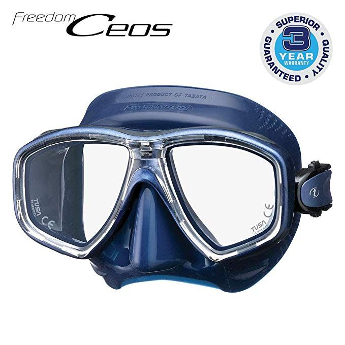 Tusa M 212 Freedom Ceos Scuba Diving Mask Review Scuba Diving Mask Diving Scuba Diving