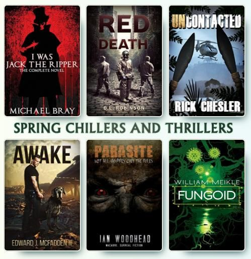 Spring Chillers and Thrillers giveaway https://williammeikleblog.wordpress.com/2018/03/01/chillers-and-thrillers-spring-giveaway/