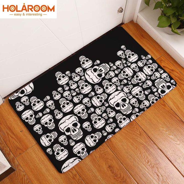 Dotteen Decorative Kitchen Rugs 3 Pieces Doormat Area Mats Sets Brown