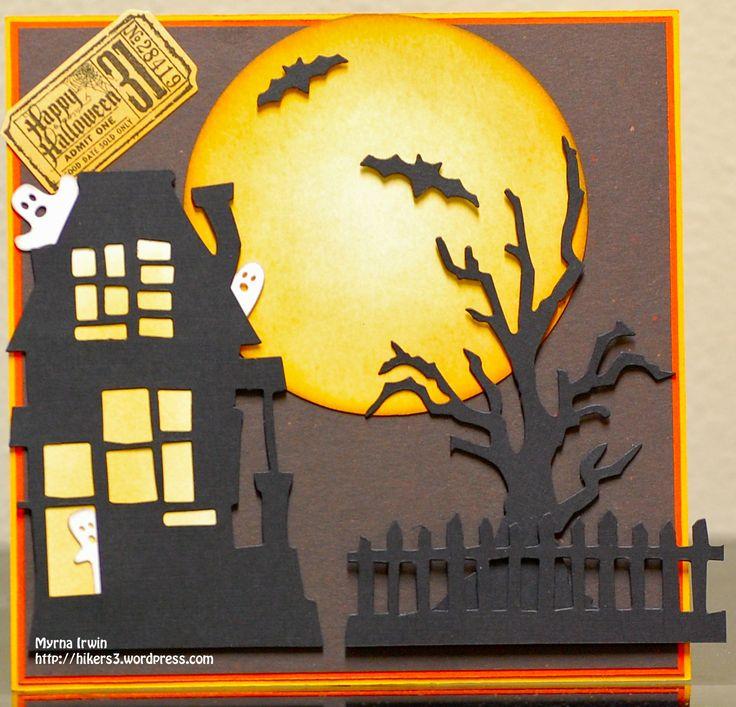 Tim Holtz Dies Halloween Card For Drew