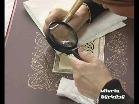 Tezhib - Ellerin Türküsü (Kanal B) 2/3فديو خطوط عربيه وزخرفه