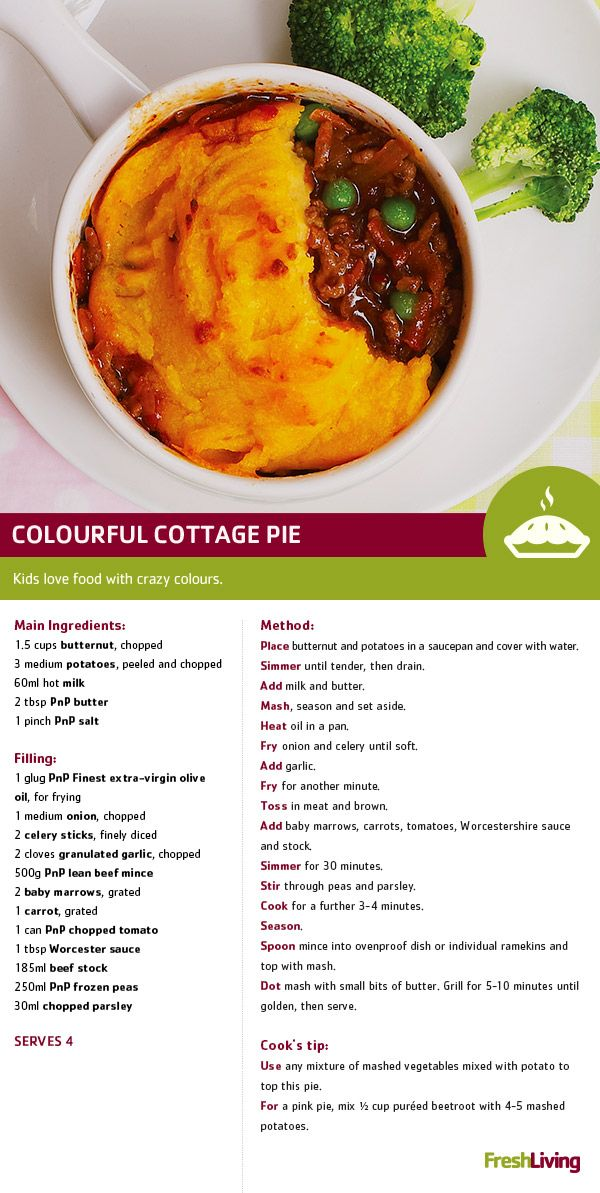 A fabulous crowd pleaser, traditional cottage pie makes for an easy weekday meal. #dailydish #PnP #freshliving