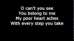 every breath you take the police lyrics - YouTube
