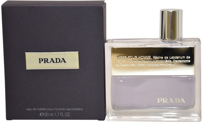 Men Prada Prada Amber Pour Homme EDT Spray 1.7 oz