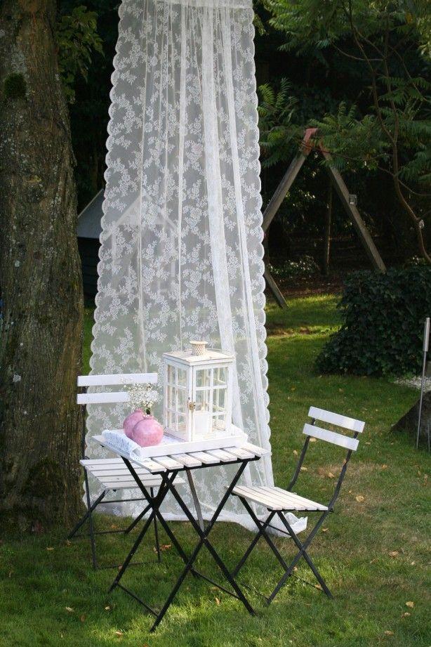 leuke versiering voor een tuinfeestje.