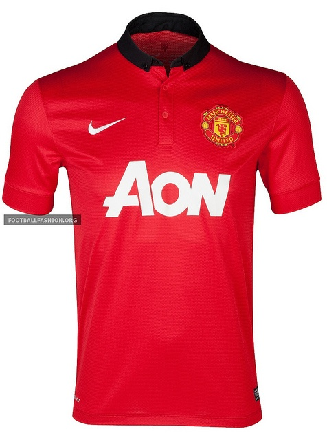 Manchester United 2013/14 Nike Home Kit