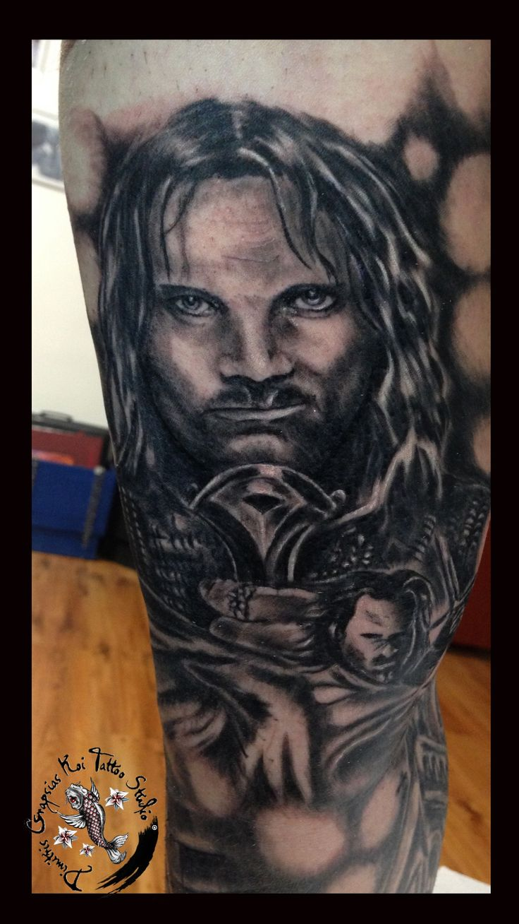 20 Awesome Lord Of The Rings Tattoos Ideas And Designs