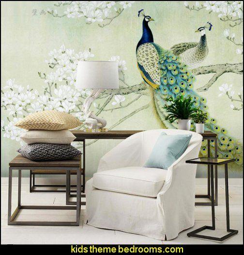 maries manor peacock theme decorating decor ideas