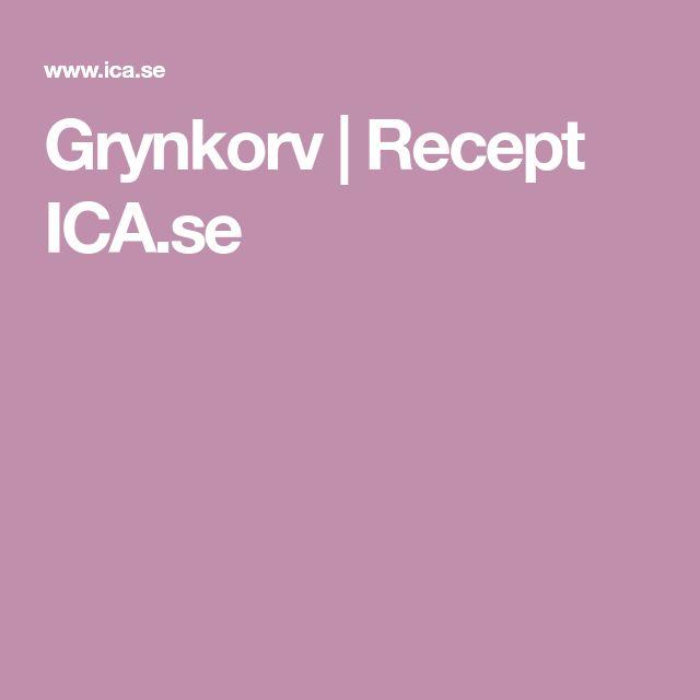 Grynkorv | Recept ICA.se