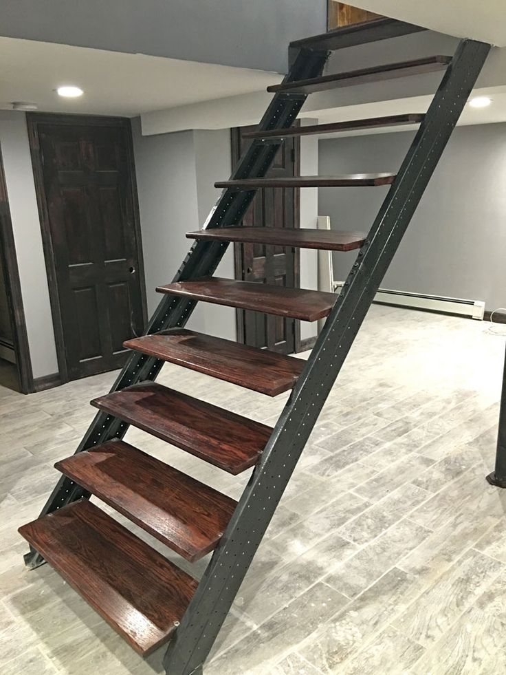 Basement Stairs Design: 128 Best Basement Stairs Images On Pinterest