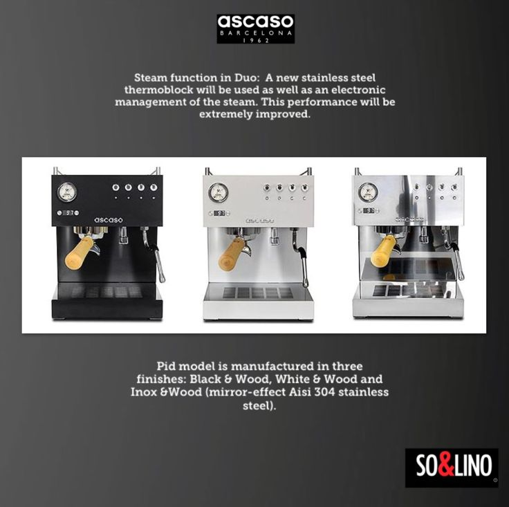 Ascaso Café & cultura ... For coffee lovers. Official Distribution in Greece www.solino.gr