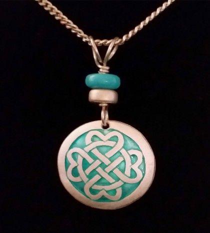 Celtic Round Necklace